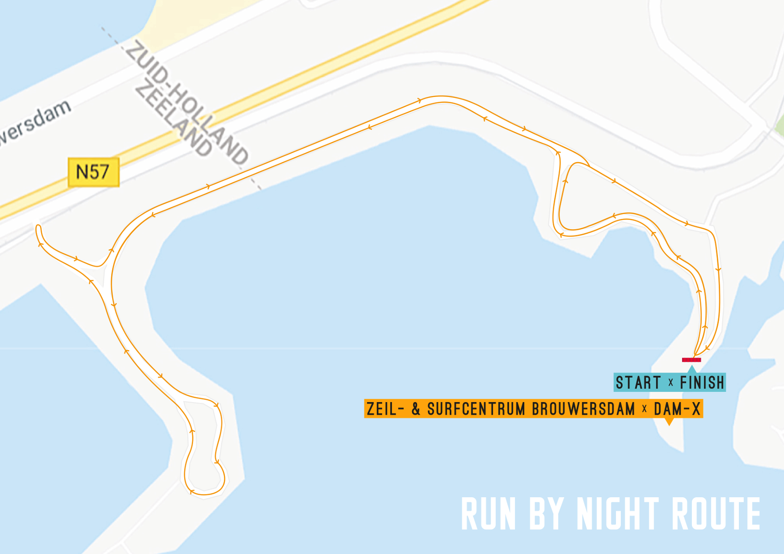 Run by Night Route